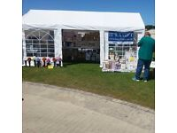 Marquee event stall/ tent/ wedding/ party 6m x 3m