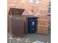Free - Wheelie bin storage