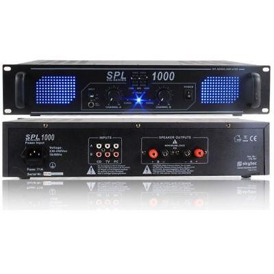 AMPLIFICATORE PA STEREO SPL 1000W EQUALIZZATO X DJ art. 178797