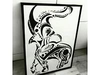 Amateur Artist Selling Work