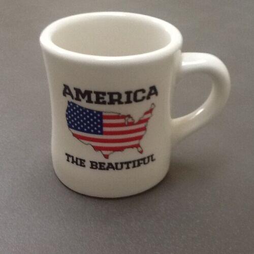 Waffle House 2012 America the Beautiful Coffee Mug Cup Heavy Tuxton EUC