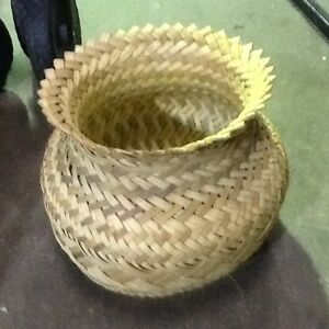 WICKER BASKET $5