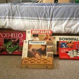 Board games all in original boxes