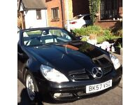 Mercedes SLK 200 Kompressor Auto (tiptronic)Black ext ivory Full Leather int - Merc History invoices