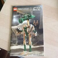 Lego Technic Star Wars Pit Droid Instructions ONLY