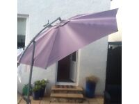 Large Cantilever garden Umberella / Canopy
