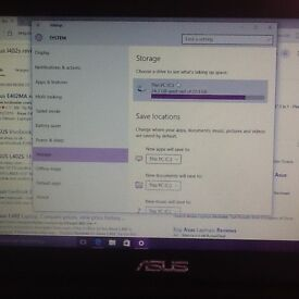 Asus L402S notebook new condition