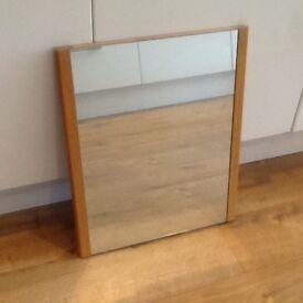 Habitat solid wooden Mirror