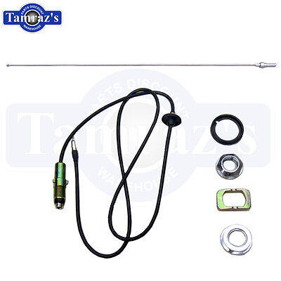 70-74 Mopar A-Body Antenna Assembly Cable Lead /& Telescopic Mast /& Hdw