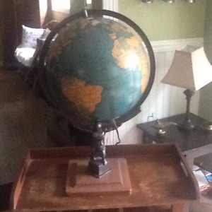 Globe terrestre - antique