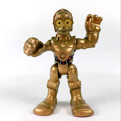 "Playskool Star Wars Galactic Heroes C3PO Foot Droid 2.5"" hasbro Figure movie toy"