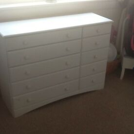 large white chest of draws