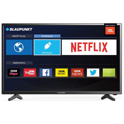 """Blaupunkt 32"""" Inch Smart HD Ready LED TV with Freeview HD and JBL Speakers"""