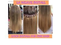 """£109 18"""" 200G & INSTALL REMY HAIR. LA WEAVE, SEWIN, MICROLOOPS & BONDS"""