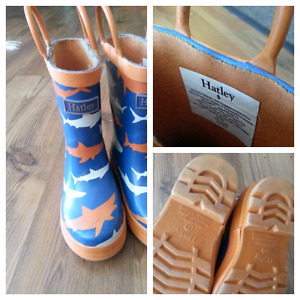 Toddler boys rubber boots & waterproof  boots