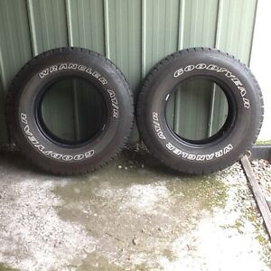 Tyres used x 2 Park Ridge South Logan Area Preview