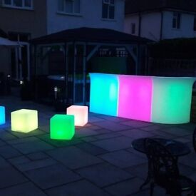 LED PARTY FURNITURE FOR SALE. no offers !!