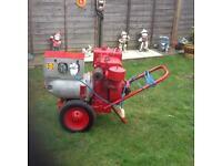 ALLAM Petrol Generator 5KVA 240+110v runs great can be seen working cb5 £300 ono