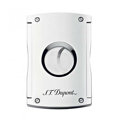 S.T. Dupont MaxiJet Cigar Cutter, High Polished Chrome, 3266 (003266) New In Box
