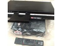 tv with vhs player plus sony dvd dvd recorder player
