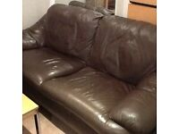 Genuine Leather 2 Seater Sofa