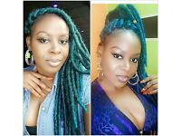 CROCHET BRAIDS /FAUX-DREADLOCKS. WEAVE. BRAIDS/PLAITS/CORNROW. .WIGS .extensions. children adult