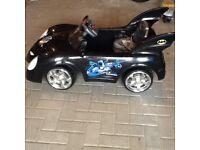 Bat mobile Ride on electric 6 v