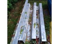 Various sizes galvanised lintels free to collect