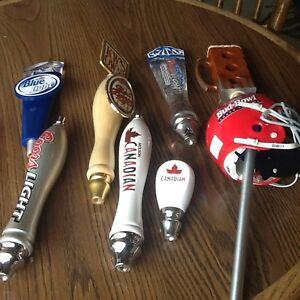 Keg Draft beer tap handles