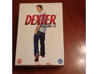 Dexter DVD Box Set series 1-5