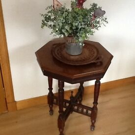 Vintage Octagonal Table