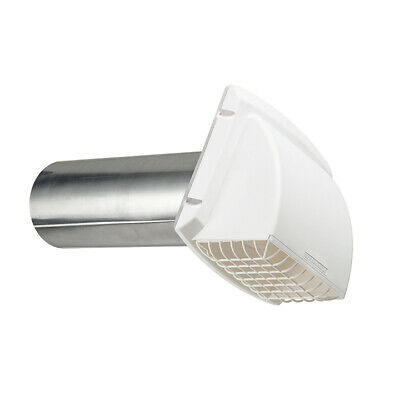 Dundas Jafine Inc. 4in. White Maxi-Flow Vent Hood PMH4WXZ