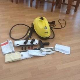 Karcher SC1.020 Premium Steam Cleanee with all attachments and instructions