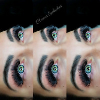 Eyelash extensions promo from Experienced Lash Artist.