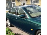 S Type Jaguar perfect condition metallic green