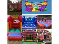 "Bouncy castle hire """"low prices"""""