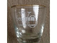 Seagrams whiskey glasses