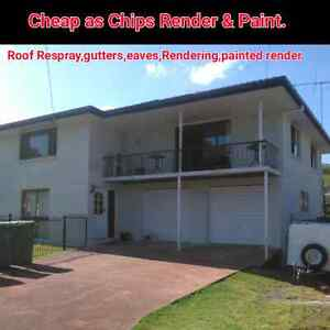 Cheap As Chips Render & paint(roof resprays best deals around) East Brisbane Brisbane South East Preview