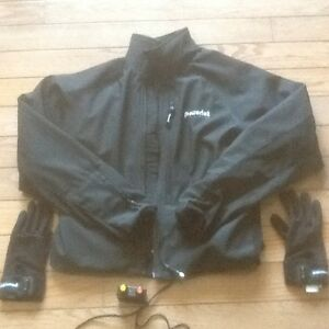 Powerlet heated jacket and gloves