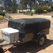 Camper Trailer for behind Motor Bike/Small Car Angaston Barossa Area Preview