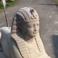 Concrete Sphinx Large Statue