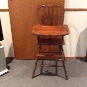 Timber Hi-Chair