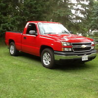 2007 CHEVY 1500 REG CAB SHORT BOX 2WD
