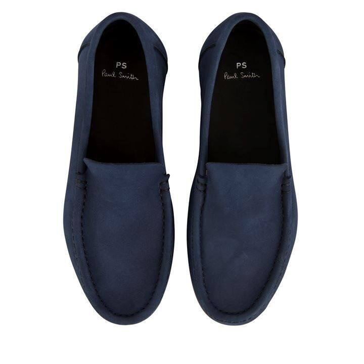 918701d16e Paul Smith Men s Navy Suede Raymond Loafers 10.5 Brand New in Box with  recipt