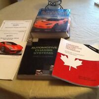 Auto service and repair books for nscc