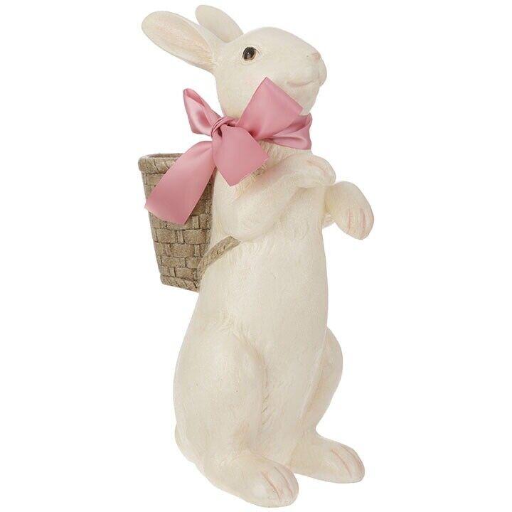 "RAZ Imports 16"" Bunny With Basket"