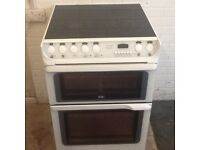 Electric cooker (double oven ) ceramic top (creda) -(60cm -wide) can deliver local