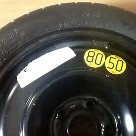 Bridgestone T145/R17 106m space saver tyre.