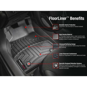 NEW DODGE RAM RUBBER WEATHER TECH FRONT AND REAR MATS