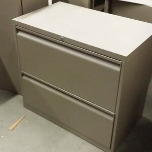 Used - Teknion 2 Drawer Lateral File Cabinet